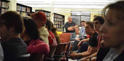 Students hash out marijuana laws