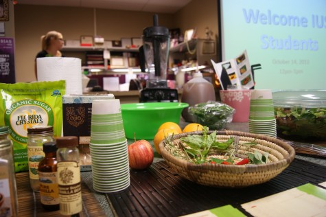 Presentation teaches students healthy eating habits, sustainability