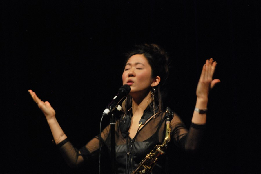Grace+Kelly+performs+at+the+Stem+Concert+Hall+on+Jan.+15
