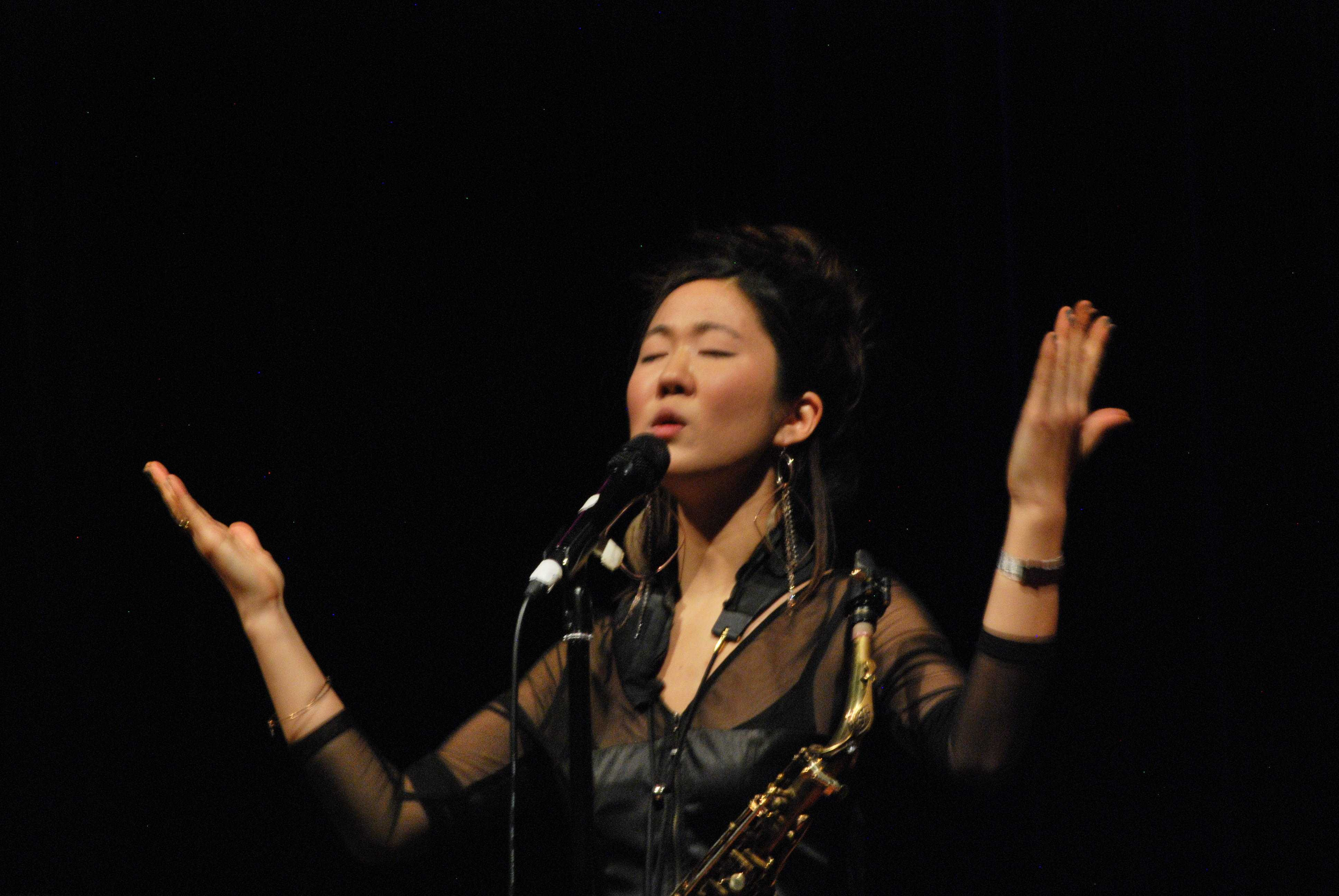 Grace Kelly performs at the Stem Concert Hall on Jan. 15