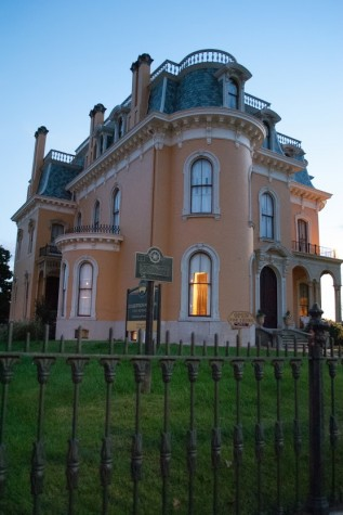 The Culbertson Mansion, located in downtown New Albany, offers tours of the home all year long.
