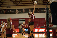 IU Southeast volleyball team defeats Rio Grande University in straight sets