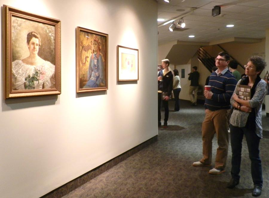 Wonderland art finds new home at IU Southeast