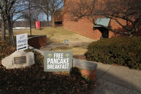 A free pancake breakfast was provided for racers following the event in the commons of the University Center.