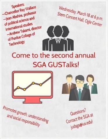 SGA plans GUSTalks