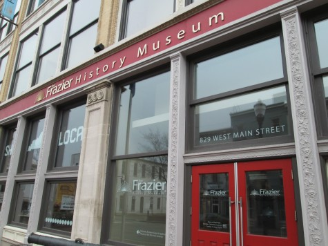 The Frazier History Museum on Museum Row in downtown Louisville.