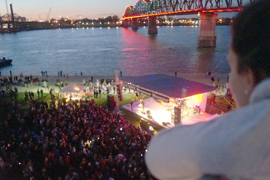 Waterfront Wednesday: How WFPK Turns A Sleepy Patch of Grass into Louisville's Hottest Music Venue