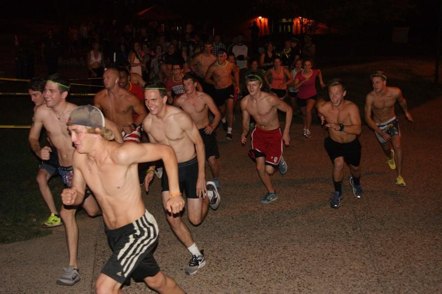 Student Alumni Association hosts annual Nearly Naked Mile