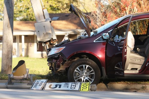 Car accident causes campus wide power outage