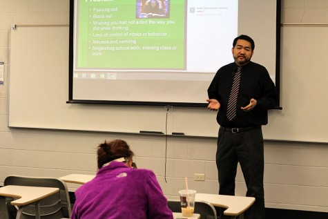 Alcohol education session occurs on campus