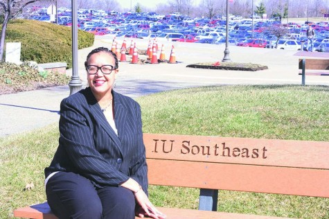 Channell Barbour, Associate Director of Campus Life, has been at IU Southeast for more than ten years.