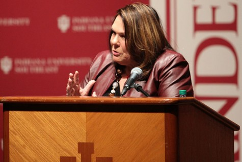 Candy Crowley comes to IUS