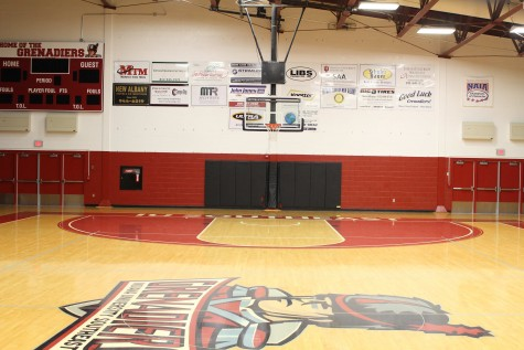IU Southeast basketball goals pass inspection