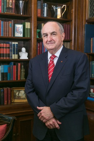 Michael McRobbie has been the president of Indiana University since 2007, according to his biography. Courtesy of Indiana University.