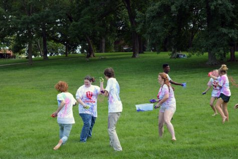Paint Wars makes a splash during Week of Welcome