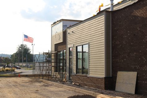 Progress being made on Coffee Crossing, which is set to open on Oct. 3.