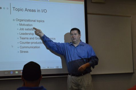 Todd Manson, assistant professor of psychology, discusses organizational topics in psychology.
