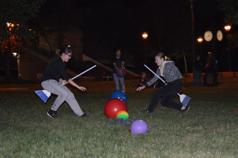 Castle Club hosts Muggle Quidditch