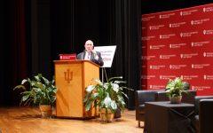 Inaugural First Savings Bank Speaker Series brings Ben Stein to IU Southeast