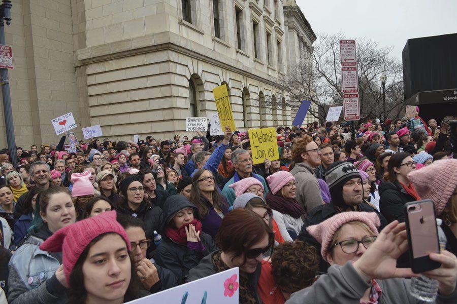 IUS professors join the Women's March on Washington