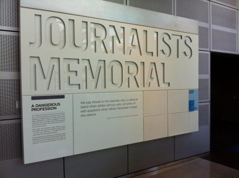 Journalists' Memorial, Newseum. Washington D.C.