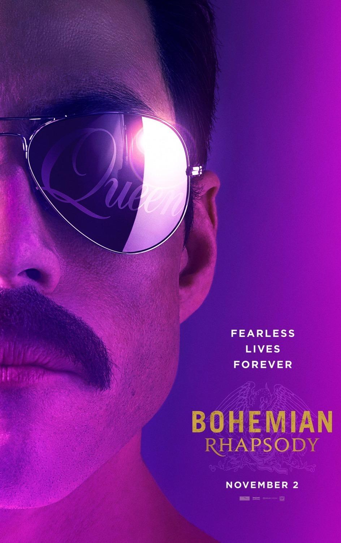 Rami Malek stars as Queen's frontman Freddie Mercury.