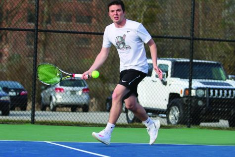 Senior tennis player excels for Grenadiers