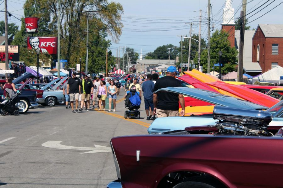 Among+the+events+happening+on+Sunday+was+a+car+show+on+Taylorsville+Road%2C+showcasing+local%2C+classic+and+custom+cars.