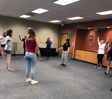 IUS Police Department hosts women's self-defense class