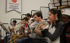 IUS Pep Band energizes home basketball games