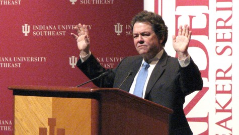 Arthur Laffer, economist, talks about the state of the economy and the effects of stimulus spending. He spoke at this year's Sanders Speaker Series.