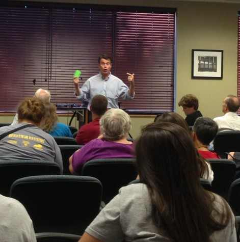 Congressman Todd Young holds town hall forum at IU Southeast