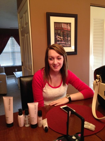 Student finds more time, money with Mary Kay