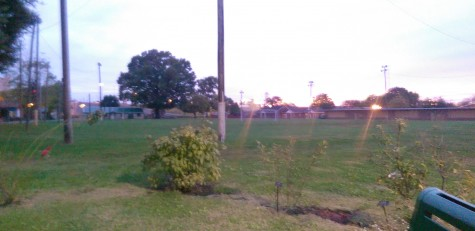 Colston Memorial Park, an empty field between I-65 and downtown Jeffersonville, was recently found to be a long-forgotten Civil War cemetery. Residents have reported seeing apparitions of soldiers at the park.