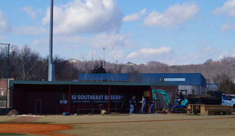The dugouts at the Koetter Sports Baseball Complex were extended and the rails were padded for player protection.