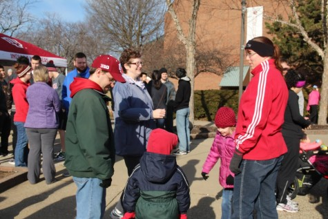 Community members and students alike came out for the race on Saturday.