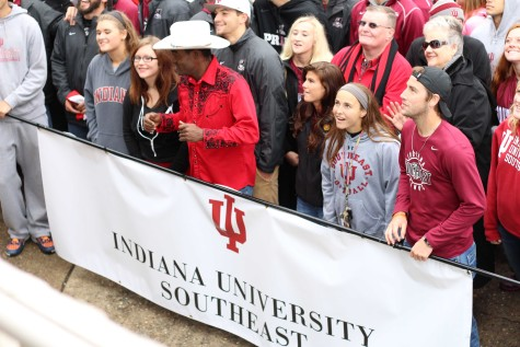 IU Southeast participates in Harvest Homecoming Parade