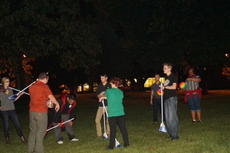 Castle Club hosts first 'Muggle Quidditch' match