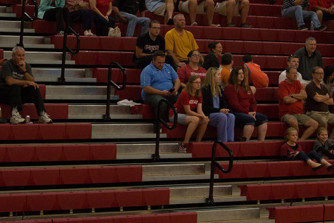 Empty bleachers: student attendance down at sporting events