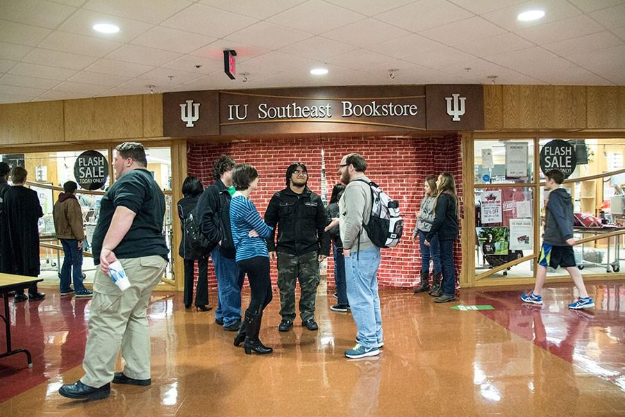 Students+waited+outside+the+IUS+Bookstore+before+Harry+Potter+Book+Night+began.%0A
