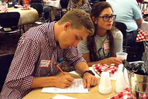 Career Development Center holds Internship Social