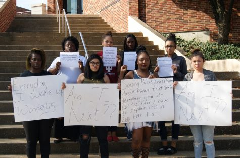 Black Lives Matter Protest Comes to IUS