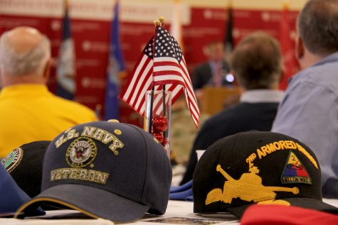 Veterans Honored at IU Southeast