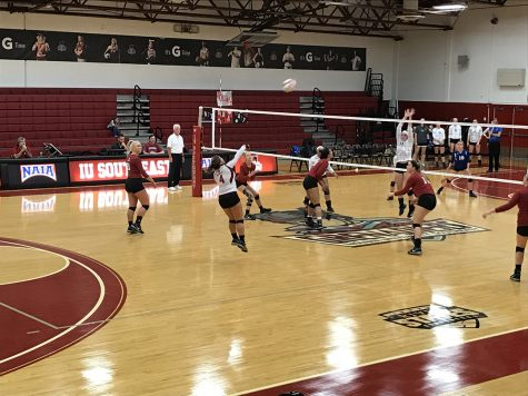 IUS volleyball defeats Brescia on senior day