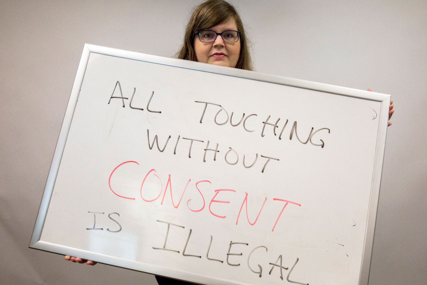 """Jean Abshire, associate professor of political science and international studies encourages sexual assault victims to seek counseling. """"It's not something they have to go through on their own,"""" Abshire said. """"Reach out to others and build a support network. Don't struggle through it by yourself, and if you can, prosecute."""""""