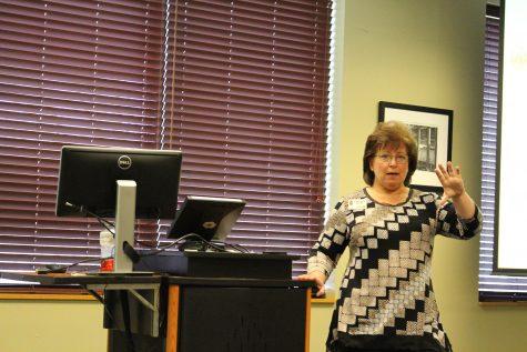 Charlene Burke Brings Career Advice to IUS