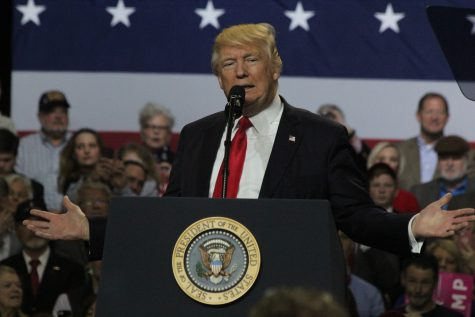 Trump Comes to Louisville's Freedom Hall for Rally