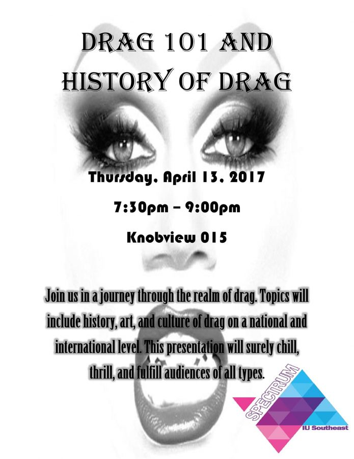 Held+on+April+13%2C+Drag+101+was+held+to+educate+people+on+the+history%2C+art+and+culture+of+drag.