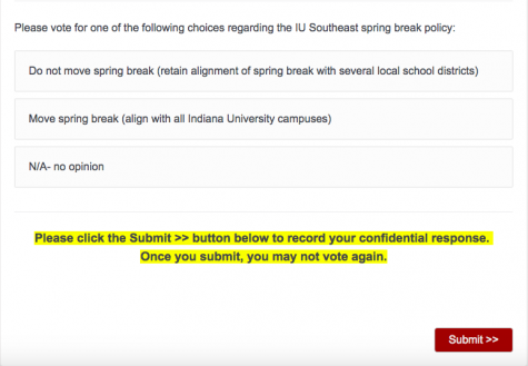 Students Weigh in on when Spring Break will be