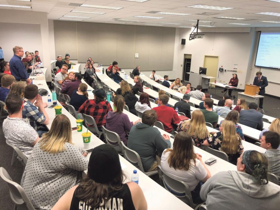 Proposal sparks SGA public forum – The Horizon